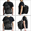 Рюкзак тактичний M04 20 л / Чоловіча сумка через плече, фото 7
