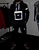Мужской спортивный костюм чёрныйс рефлективными элементами, фото 4
