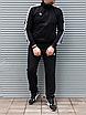 Мужской спортивный костюм Adidas, чёрный ( БАТАЛ ), фото 4