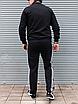Мужской спортивный костюм Adidas, чёрный ( БАТАЛ ), фото 5