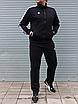 Мужской спортивный костюм Adidas, чёрный ( БАТАЛ ), фото 7