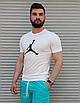 Чоловіча біла футболка Jordan, фото 2