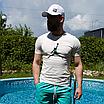 Чоловіча біла футболка Jordan, фото 4