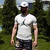 Чоловіча біла футболка Jordan, фото 5