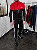 Мужской спортивный костюм Adidas без капюшона , штаны на манжетах, фото 4