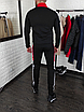 Мужской спортивный костюм Adidas без капюшона , штаны на манжетах, фото 5