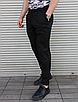 Мужские летние брюки чёрные, фото 7