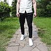 Мужские летние брюки чёрные, фото 9