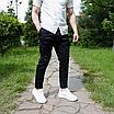 Мужские летние брюки чёрные, фото 10
