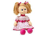 Мягкая игрушка Кукла Ляля в шелковом платье (муз. 22 см), Lava (LF869C)