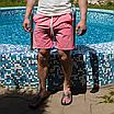 Рожеві пляжні шорти чоловічі   100% нейлон, фото 4