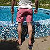 Рожеві пляжні шорти чоловічі   100% нейлон, фото 6