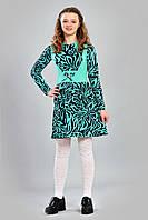 """Подростковое платье из качественного фактурного трикотажа """"304-1"""""""