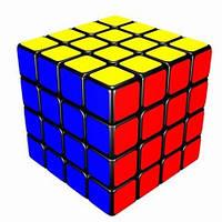 Игрушка-головоломка Кубик 4x4x4 Aosu black, MoYu (MYAS01)