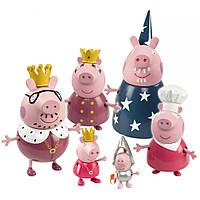 Королевская семья, 6 фигурок, серия Принцесса Peppa (28875)