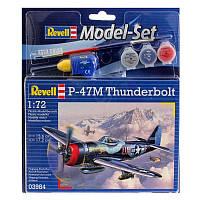 Model Set Истребитель-бомбардировщик P-47 M Thunderbolt 1:72, Revell (63984)