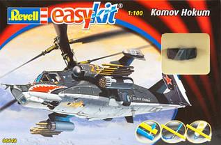 Вертолет Kamov Hokum - easy kit, 1:100, Revell (6648)