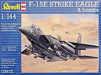 Истребитель F-15E Strike Eagle & Bombs, 1:144, Revell (3972)