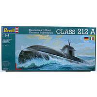 Подводная лодка (2003г.,Германия) New German Submarine U212 (+ IT Version), 1:144, Revell (5019)