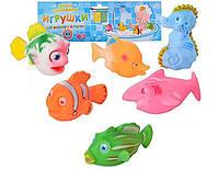Набор игрушек ― пищалок Морские животные 2107-6 Metr+