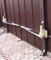 Установка автоматических распашных ворот