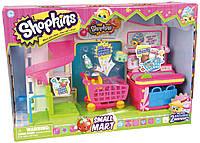 Супермаркет S1, игровой набор (2 эксклюзивных Шопкинса, аксессуары) Shopkins (56008)