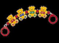 Мишки, погремушка на коляску, Tolo (87120)