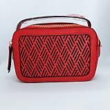Гарна жіноча клатч сумка Червона, фото 2