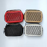 Гарна жіноча клатч сумка Червона, фото 6