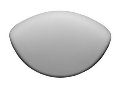 Подголовник Ravak ROSA II серый