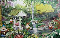 Фотообои В саду у гномов