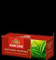 Чай черный Майский Царська корона , 25 пак
