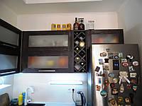 Кухня с фасадами из ДСП Cleaf
