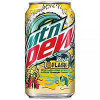 Газировка Mountain Dew Baja Flash Soda 355ml
