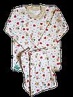 Пижамы детскиедля девочек на байке хлопок размер 68.От 3шт по 59грн, фото 4