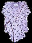 Пижамы детскиедля девочек на байке хлопок размер 68.От 3шт по 59грн, фото 5