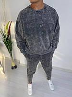 Спортивный костюм мужской оверсайз весна-осень Grey