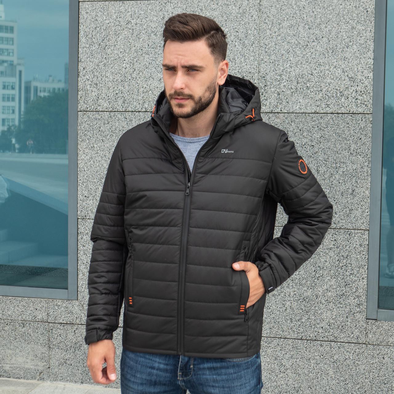 Куртки мужские весна осень от производителя 48-64  черный