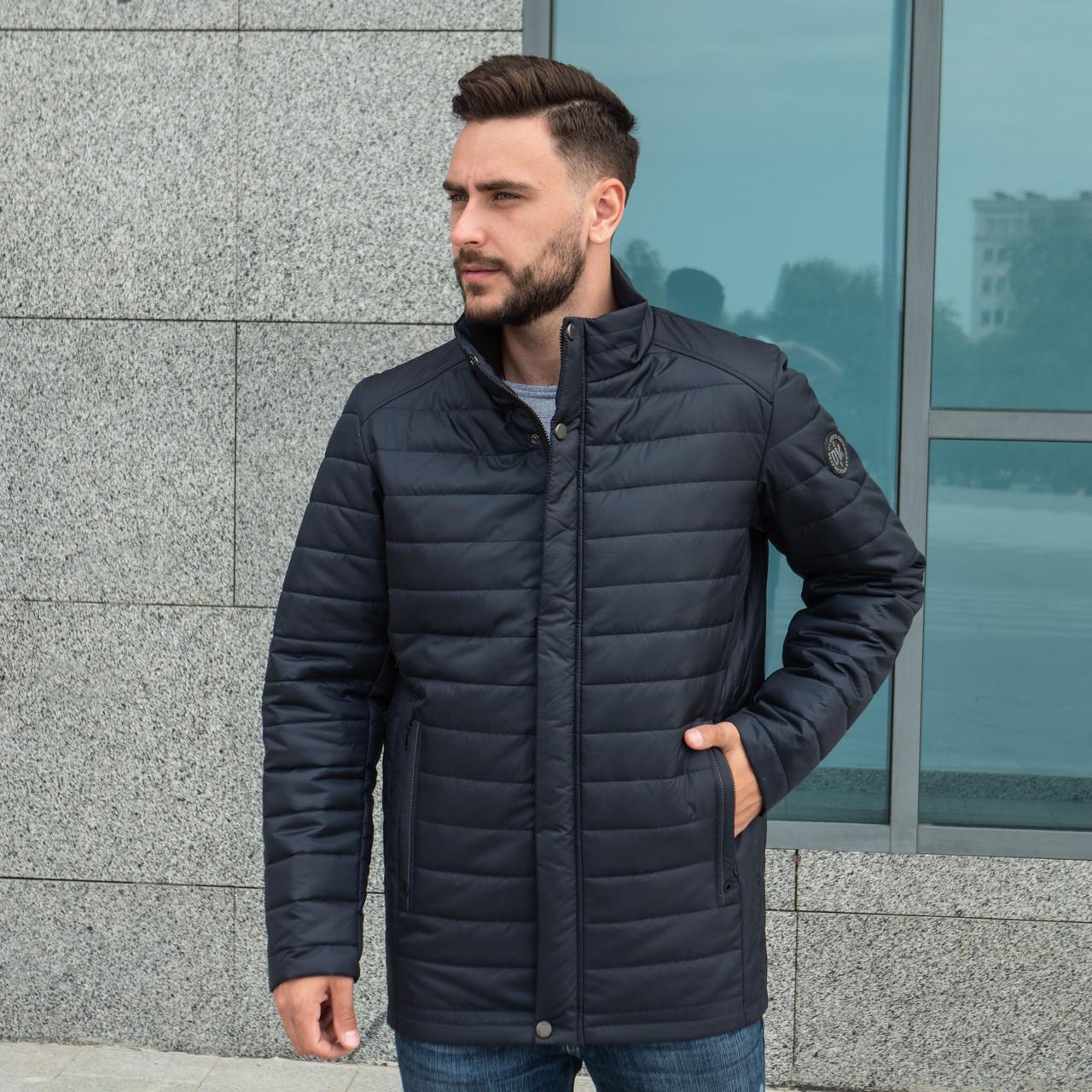 Куртки чоловічі демісезонні великого розміру від виробника 50-66 темно-синій