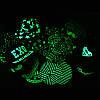 Cветящаяся черная кепка  Cayler  (реплика), фото 4