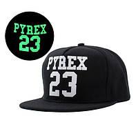 Cветящаяся черная кепка Pyrex 23