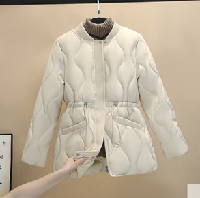 Курточка жіноча на куліске з кишенями, фото 2