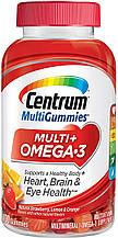 Мультивитаминный жевательный комплекс Centrum для взрослых с Омега-3