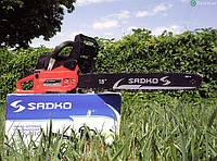 Бензопила Sadko GCS-510Е ( 3 л.с. шина 45 см) с дополнительной шиной и цепью, фото 1