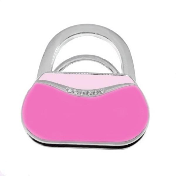 Сумкодержатель сумочка тёмно-розовая