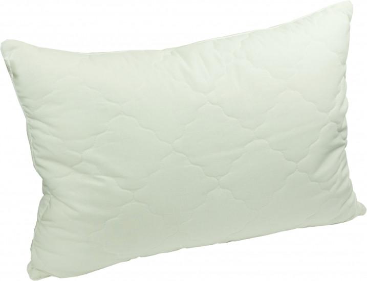 Подушка з наповнювачем силіконові кульки 50х70 см бязь на блискавці