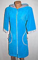 Домашний велюровый халат для женщин