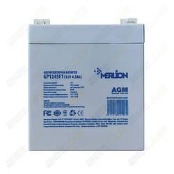Аккумулятор GP1250F1 12v/5Ah Merlion