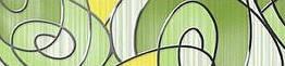 Фріз Golden Tile 250*60 Ріо зелений