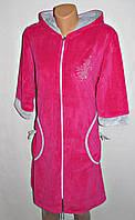 Модный качественный велюровый халат для женщин